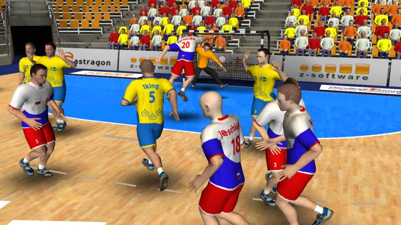 Handball logo animation